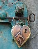 Heart Key in Turqoise Lock_129x164